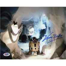 "Kenny Baker ""Star Wars"" R2D2 Signed 8x10 Photo Certified Authentic PSA/DNA COA"