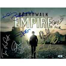 Boardwalk Empire Cast Signed 11x14 Photo Certified Authentic Beckett BAS COA