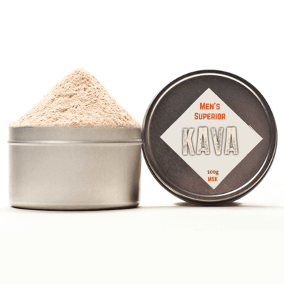 Instant Kava Root Drink Mix Jar