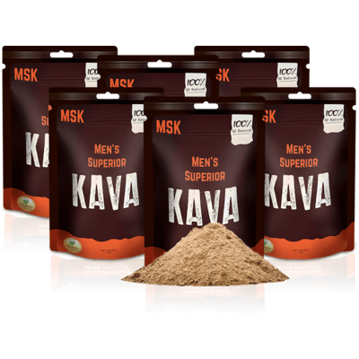 6 Pack of Men's Superior Kava
