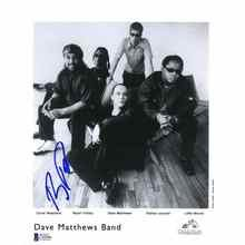 Boyd Tinsley Dave Matthews Band Promo Signed 8x10 Photo Certified Authentic Beckett BAS COA