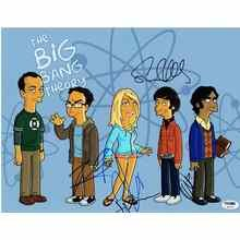 The Big Bang Theory Signed 11x14 Photo Certified Authentic PSA/DNA COA