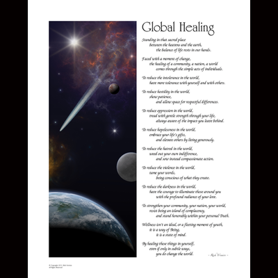 Art: Global Healing - Black Edition