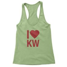 I Heart KW - Women's Racerback Tank