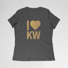 I Heart KW Women's Circle Top Tee