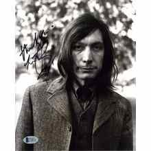 "Charlie Watts ""The Rolling Stones"" Signed 8x10 Photo Certified Authentic Beckett BAS COA"