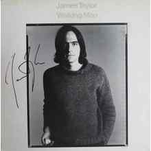 James Taylor Walking Man Signed Record Album LP Certified Authentic JSA COA