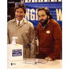 Home Improvement Allen and Karn Signed 8x10 Photo Certified Authentic Beckett BAS COA