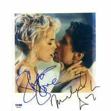 Basic Instinct Douglas and Stone Signed 8x10 Photo Certified Authentic PSA/DNA COA