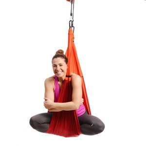 Free USA Shipping! Yoga Trapeze - Orange with Free DVD Tutorials