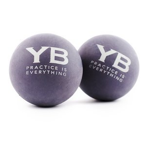 Yoga Massage Balls x2 | Hurts So Good! by YOGABODY® | Natural Rubber Creates Human-Like Deep Tissue Massage Experience on Soft Tissues