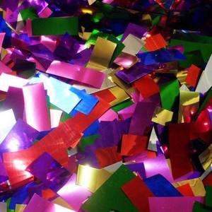 Bulk Metallic Confetti