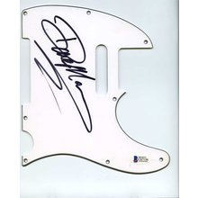 Dave Mason The Reels Traffic Signed Guitar Pickguard Certified Authentic Beckett BAS COA