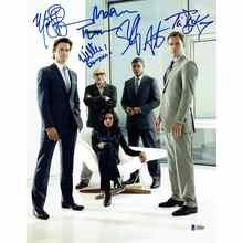 White Collar 'Cast' Signed 11x14 Photo Certified Authentic Beckett BAS COA