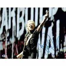 Roger Waters Pink Floyd Signed 11x14 Photo Certified Authentic Beckett BAS COA