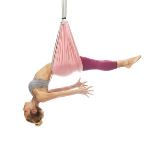 Free USA Shipping! Yoga Trapeze - Baby Pink with Free DVD Tutorials
