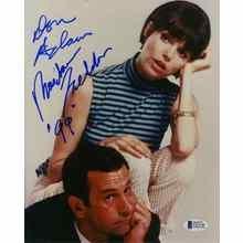 Get Smart Cast Adams & Feldon Signed 8x10 Photo Certified Authentic Beckett BAS COA