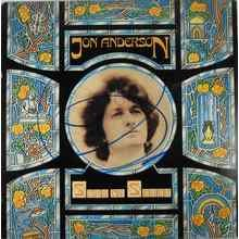 Jon Anderson Yes Signed Record Album LP Certified Authentic JSA COA