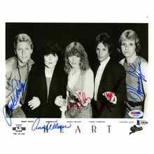 Heart Group by All Five Signed 8x10 Photo Certified Authentic Beckett BAS COA