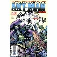 Ant-Man Cast Signed Comic Book Certified Authentic Beckett BAS COA