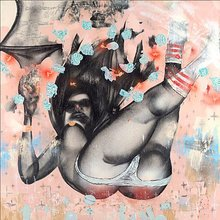 "David Choe ""Falling From Grace"" Signed Giclée Print"