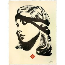 "Obey Giant ""Debbie Harry Destiny"" Signed Letterpress"
