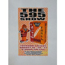 "Toyroom ""595"" Show Poster - Orange Variant"