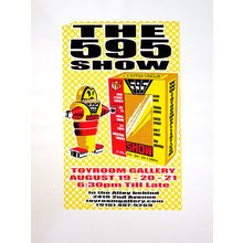 "Toyroom ""595"" Show Poster - Yellow Variant"