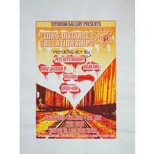 "Toyroom ""Long Distance Relationship"" Show Poster"