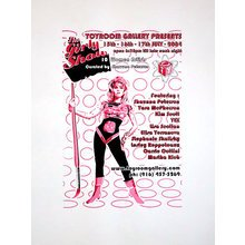 "Toyroom ""The Girly Show"" Show Poster"