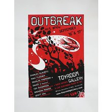 "Toyroom ""Outbreak"" Show Poster"