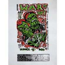 "Toyroom ""War Of Art"" Show Poster - Grey Paper"