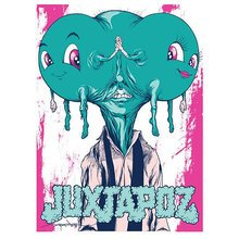 "Alex Pardee - Juxtapoz ""Happy Heads"""