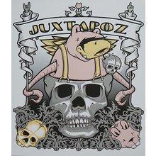 "Jeremy Fish - Juxtapoz ""Skull"""