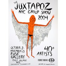 "Neckface - Juxtapoz ""NYC Group Show 2004"""