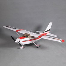 Sky Trainer 182 V2 RTF,1100mm: Red