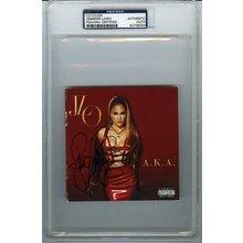 Jennifer Lopez Signed CD Certified Authentic PSA/DNA COA