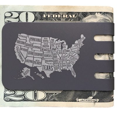 The COMMANDER™ Oversized Money Clip