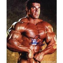 Lou Ferrigno Flexing Muscles Signed 8x10 Photo Certified Authentic JSA COA