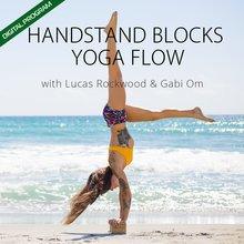Handstand Blocks Yoga Flow Digital Program & Free PDF Pose Chart