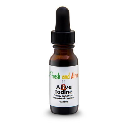 Fresh And Alive Scalar Enhanced Alive Iodine, 0.5 oz