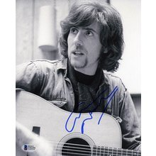 Graham Nash Signed 8x10 Photo Certified Authentic Beckett BAS COA