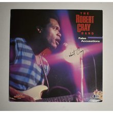 Robert Cray Signed Record Album LP Certified Authentic Beckett BAS COA