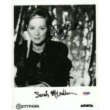 Sarah McLachlan Promo Signed 8x10 Photo Certified Authentic PSA/DNA COA