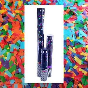 disposable confetti cannon with tissue confetti