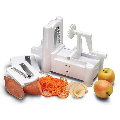 World Cuisine Spiral Vegetable Slicer, Free Shipping (Continental US Only)