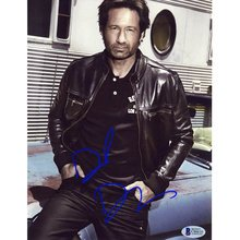 David Duchovny Signed 8x10 Photo Certified Authentic Beckett BAS COA