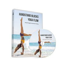 HANDSTAND BLOCKS DVD: Yoga Flow with Lucas Rockwood & Gabi Om With FREE PDF Pose Chart
