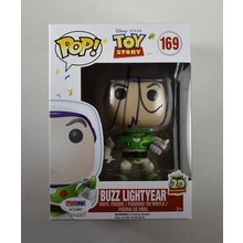 Tim Allen Toy Story Buzz Lightyear Signed Funko Pop Doll Certified Authentic PSA/DNA COA