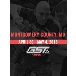 Level 1 Full Certification: Montgomery County, MD (April 30 - May 4, 2018)